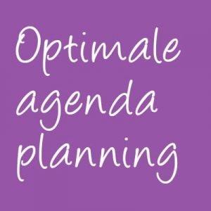 optimale agendaplanning